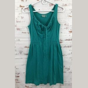 Athleta Knit Beach Dress Teal Green Size XS #307